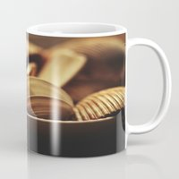 shells Mugs featuring Shells by BURNEDINTOMYHE∆RT♥