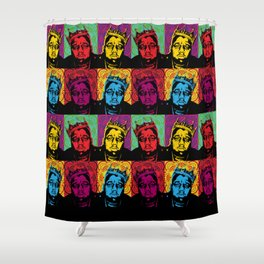 The Notorious BIG Shower Curtain
