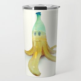 Banana Peel - Kart Art Travel Mug