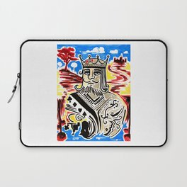 King Of Cards Laptop Sleeve