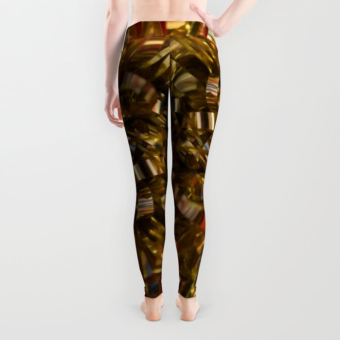 Golden Burst Leggings