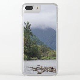 Waipio Valley Clear iPhone Case