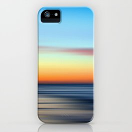 Abstract Seascape 11 iPhone Case