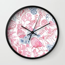 Mycology 3 Wall Clock