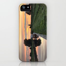 West Somerton Sunset iPhone Case