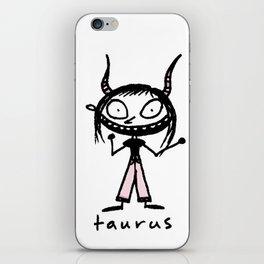 taurus. uh! iPhone Skin