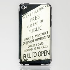 Doctor Who: PULL TO OPEN! iPhone & iPod Skin