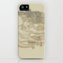 Ghost Kitty iPhone Case