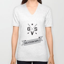 Gud Vision Supply Unisex V-Neck