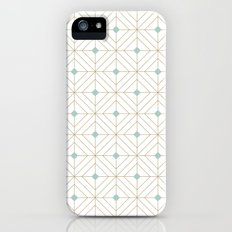 Mint Diamonds iPhone (5, 5s) Slim Case