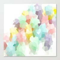 pastel Canvas Prints featuring Pastel  by 2sweet4words Designs