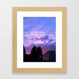 Aesthetic Framed Art Print