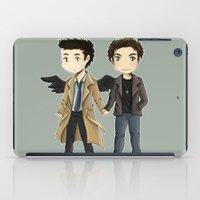 destiel iPad Cases featuring Destiel  by agartaart