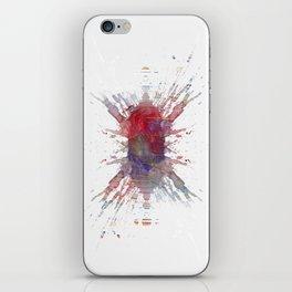Inknograph XIII iPhone Skin