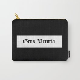 Gens Veturia Black Carry-All Pouch