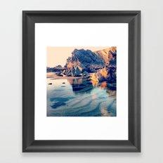 Crystal Clear, Beautiful Air Framed Art Print