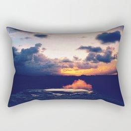 Paradise Sunset Rectangular Pillow