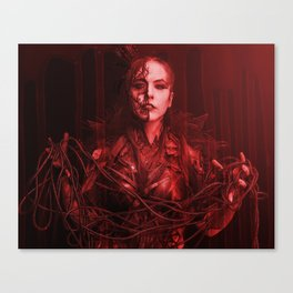 The Red Queen Canvas Print