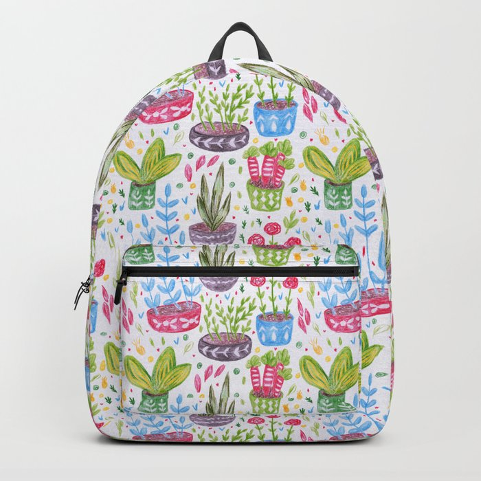 Flowers in the Pot Backpack