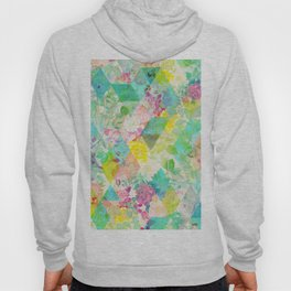 Floral triangles Hoody