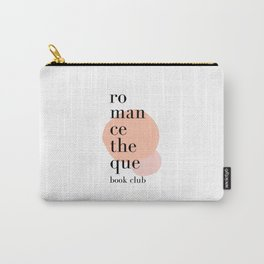 Romancetheque Book Club Carry-All Pouch