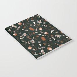Autumn feeling pattern Notebook