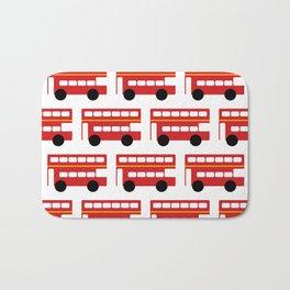 London Red Bus Bath Mat