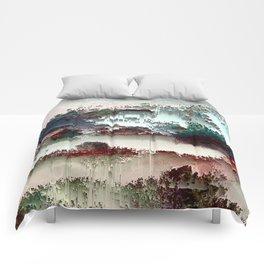 Untitled tree scene Comforters