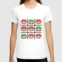 super mario T-shirts featuring Super Mario by Xiao Twins