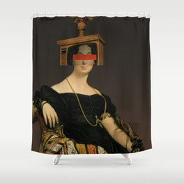 Another Portrait Disaster · Francoise 1 Shower Curtain