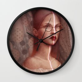 Split Wall Clock