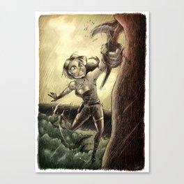 Lara Canvas Print