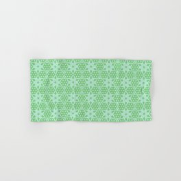 Stars and Hexagons Pattern - Distant Hills Hand & Bath Towel