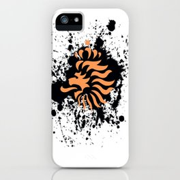 knvb royal lion iPhone Case