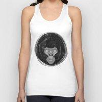 gorilla Tank Tops featuring Gorilla  by dchristo