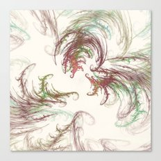 Harvest Winds Fractal Canvas Print