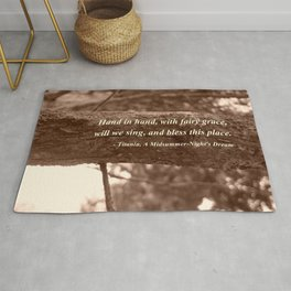 Hand in hand Rug