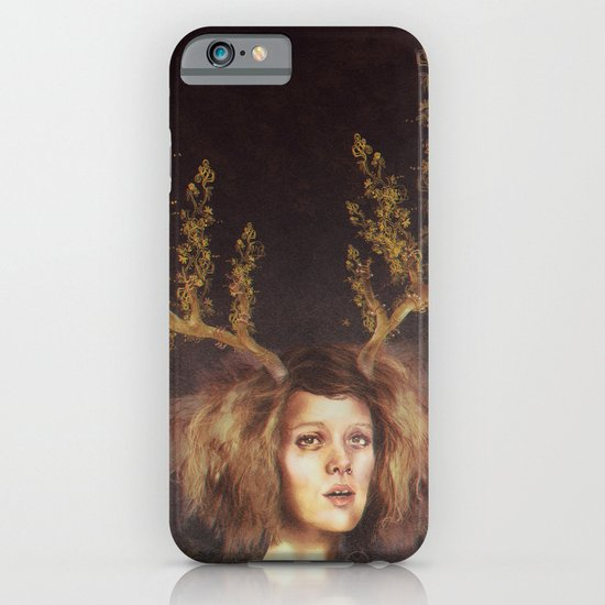 The Golden Antlers iPhone & iPod Case