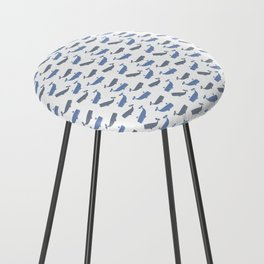 White Whaling Counter Stool