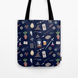 Harry Pattern Night Tote Bag