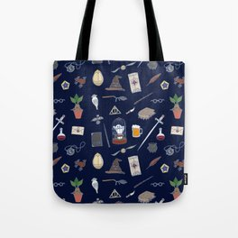 Harry Pattern Night Tote Bag