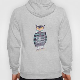 Perched Owl Hoody