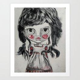 Salty Art Print