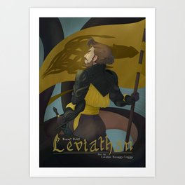 Leviathan's Call Art Print