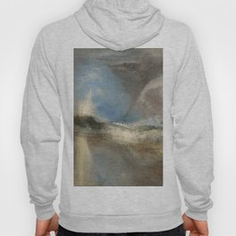 """J.M.W. Turner """"Rockets and Blue Lights (Close at Hand) to Warn Steam Boats of Shoal"""" Hoody"""