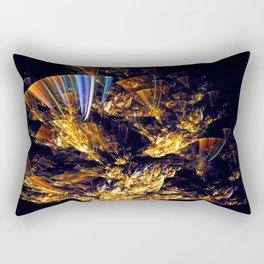 Dancing Fan Rectangular Pillow