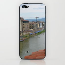 Florence - Arno with Kayak Water Polo iPhone Skin