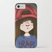 rap iPhone & iPod Cases featuring rap by Pınar Bibin