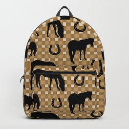 Horse and Shoe Backpack