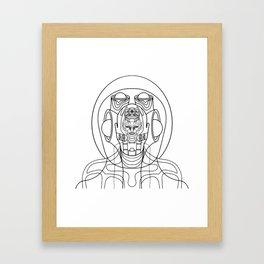 phantom Framed Art Print